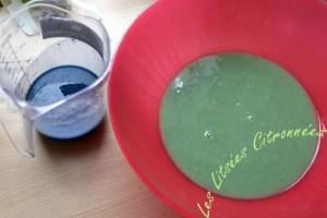 Colorer une ou toutes vos parts de pâtes à savon