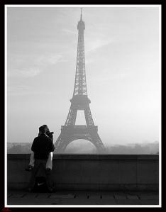 Les amoureux du Trocadéro CedEm Photographies