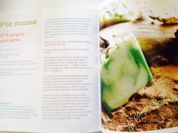 Les recettes illustrées par des photos pleine page