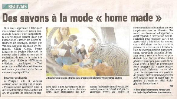 "Des savons à la mode ""home made"""