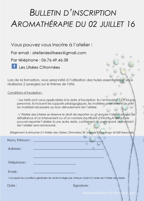 inscription au 02 juillet 2016
